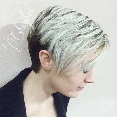 14 Wonderful Wedge Haircuts | Srt layers, Srts and Hair style