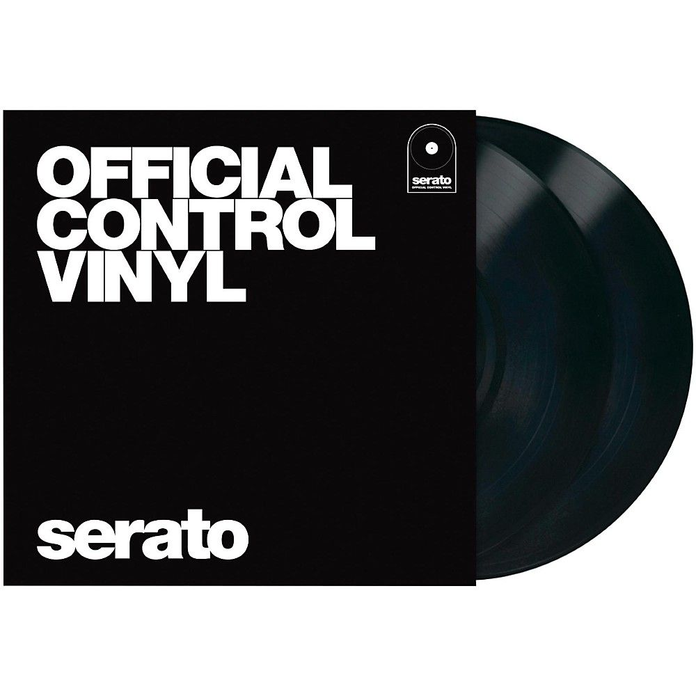 Serato 12 Inch Official Control Vinyl Pair Vinyl Vinyl Records Performance