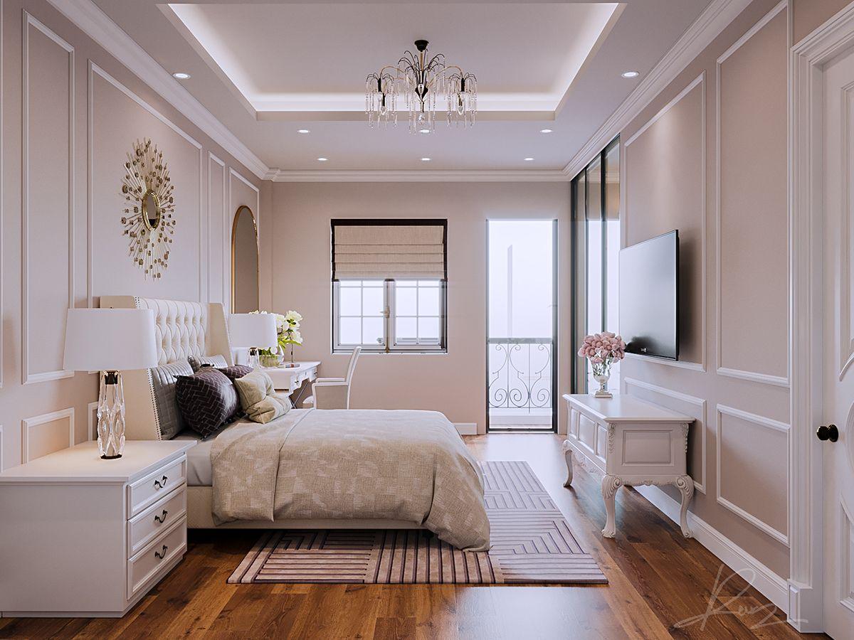 Bedroom Classic On Behance Desain Interior Dekorasi Rumah Mewah Ide Dekorasi Rumah Luxury bedroom design desain