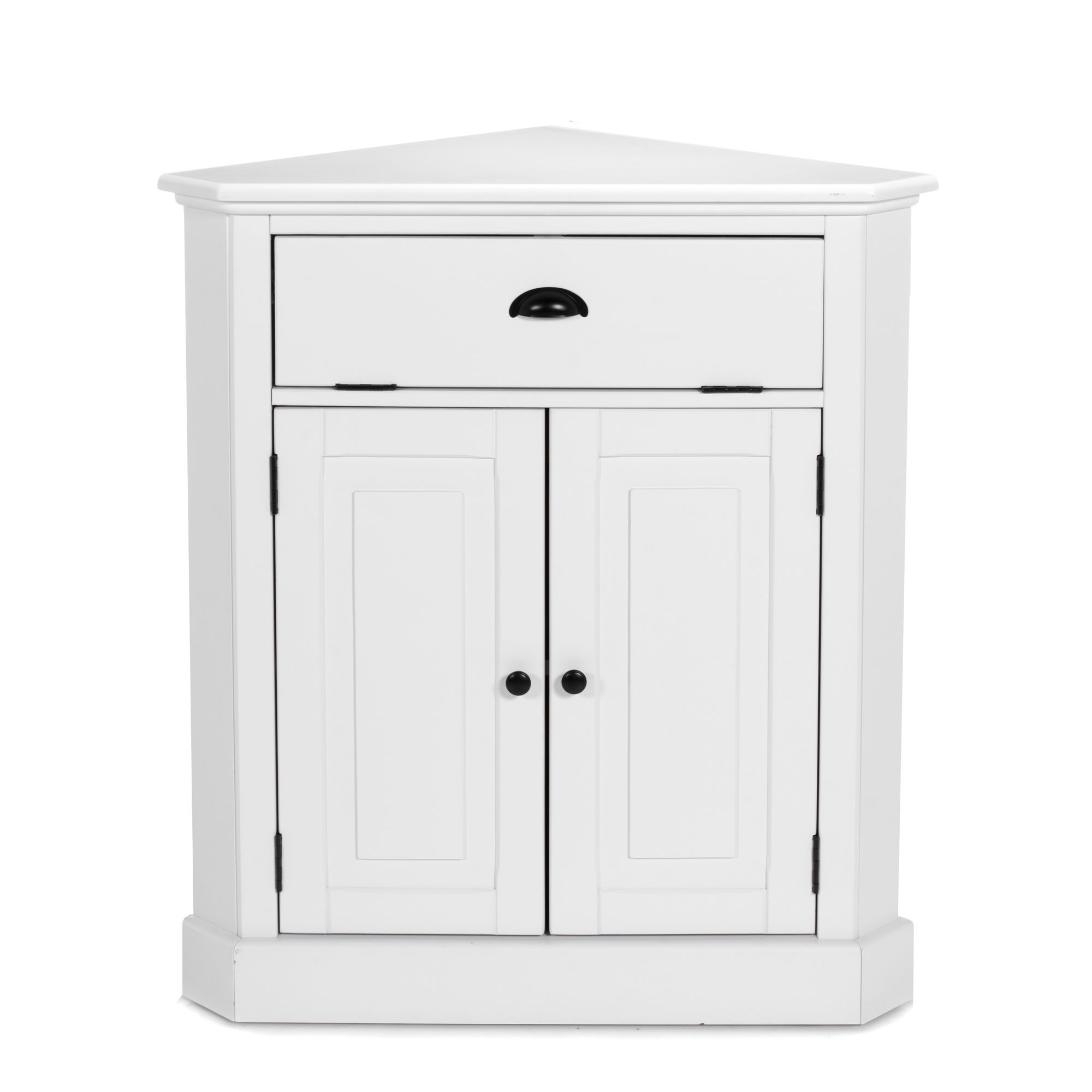 meuble d 39 angle en pin blanc vana les buffets buffets. Black Bedroom Furniture Sets. Home Design Ideas