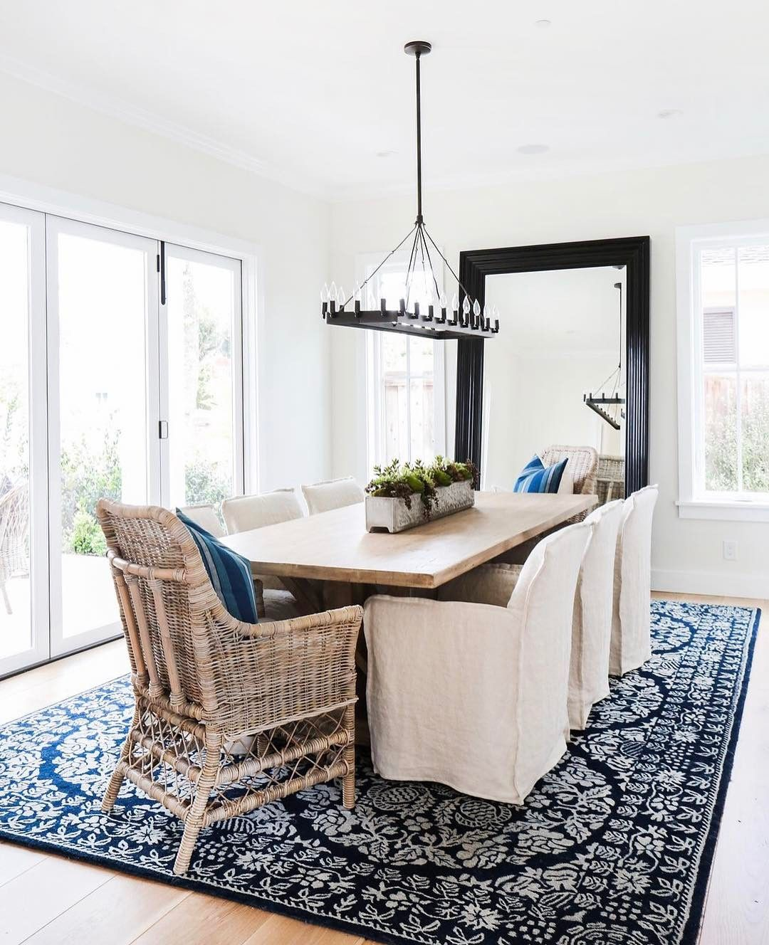 We Have This Airy Dining Room By Blackbanddesign Has That Modern Farmhouse Look All