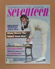 VIntage November 1980 SEVENTEEN Magazine--Miss Piggy, Dinah Manoff, B52's record