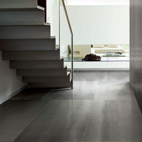 Pin By David Shack On Flooring Large Floor Tiles Modern Floor Tiles Metal Floor