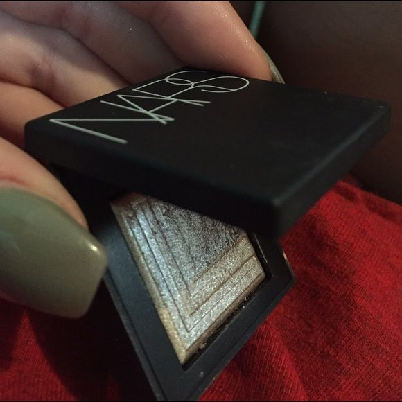 Nars dione dual intensity shadow Very intense and beautiful silvery gold color, I apologize for the unfocused pictures, the last photo is from their website. Ive only used this shadow about two times. NARS Other