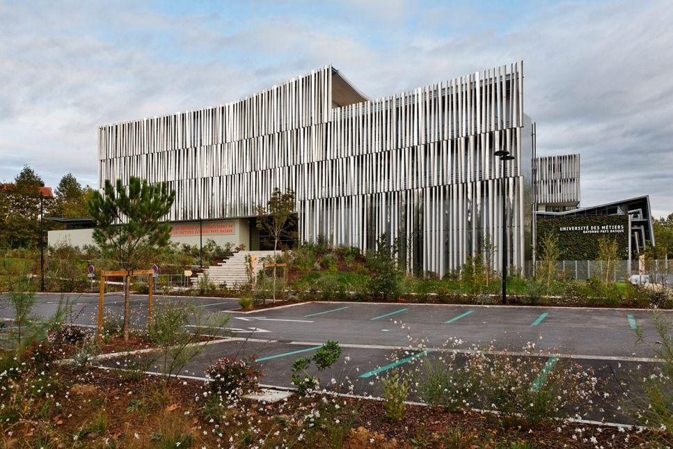 Pole Territorial De Formation Bayonne Pays Basque Et Chambre Des Metiers Pays Basque Bayonne Architecte