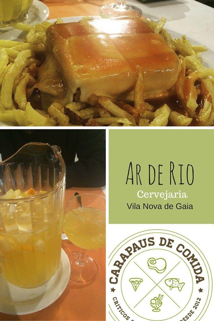 Ar de Rio | Cervejaria | Porto | Carapaus de Comida