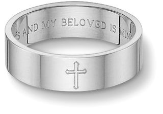Song Of Solomon Wedding Ring Love The Inscription Christian Wedding Rings Wedding Band Engraving White Gold Wedding Bands