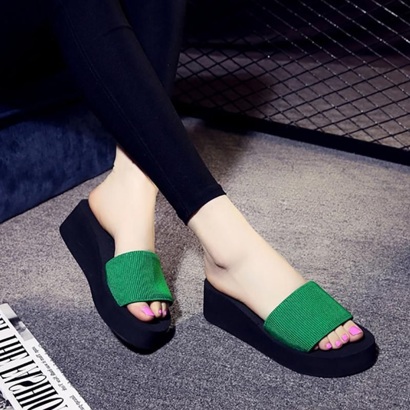 Womens slippers, High heel slippers