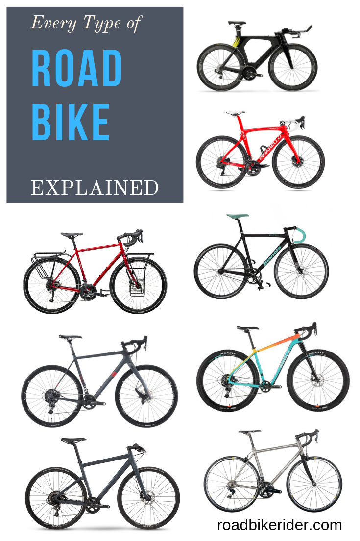 Every Different Type Of Road Bike Explained Road Bike Road