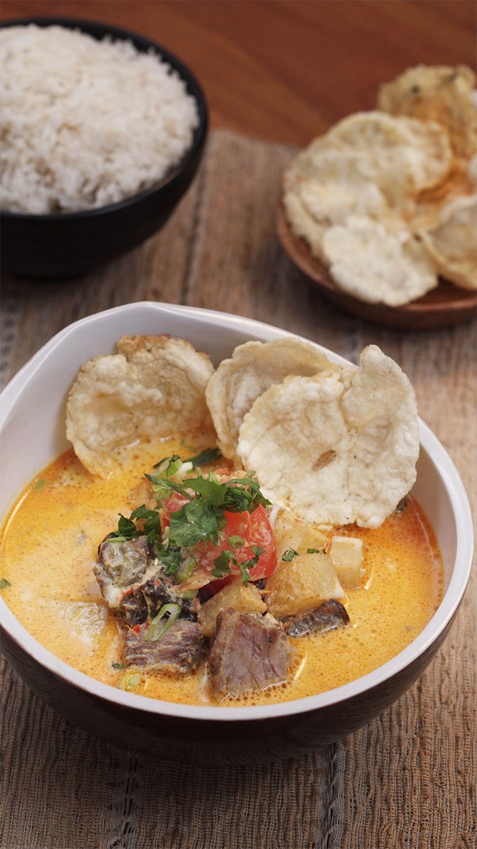 Soto Betawi Resep Resep Masakan Makan Siang Makanan
