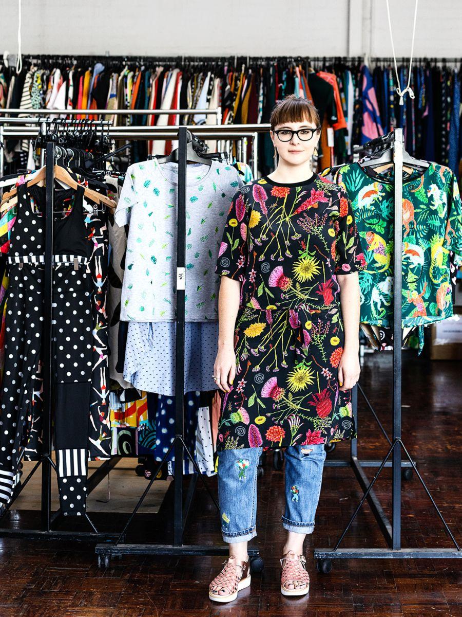 Popular Design Blogs bonnie mooney · textile designer, gorman — the design files