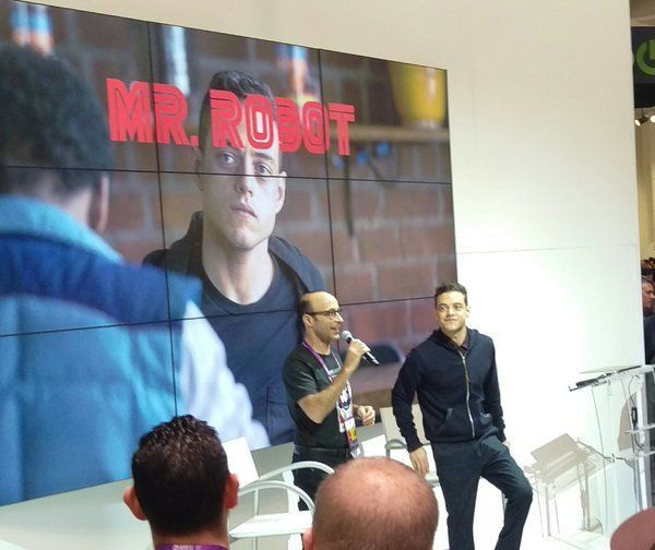 Qualy's for RSAC 2016 in SF #RSAC2016 #Qualys #MrRobot #RamiMalek #CyberSecurity #Conference