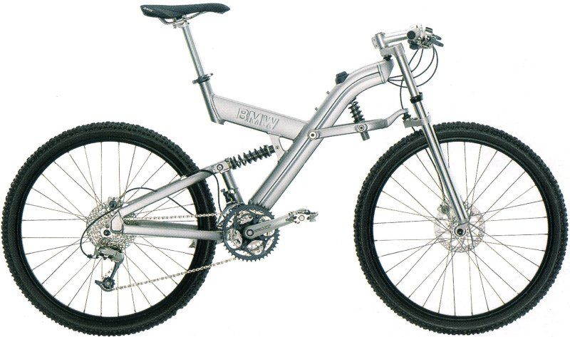 in 2000 bmw introduced a line of stylish folding bikes. while bmw