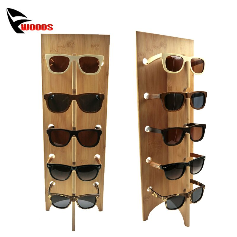 e0c23c646438 Cheap rack portable, Buy Quality rack warehouse directly from China stand  speaker Suppliers: Wood Sunglass Racks Glasses Display Stand Wood Shelf  Stand For ...