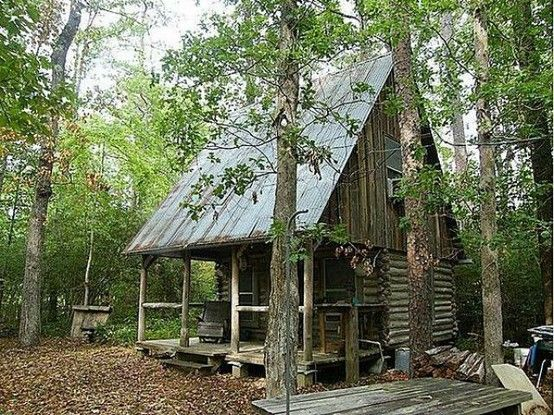 fantastic cabin - love the roof pitch
