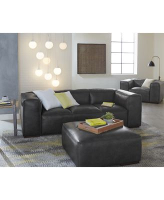 CLOSEOUT! Emanci Leather Sofa Collection