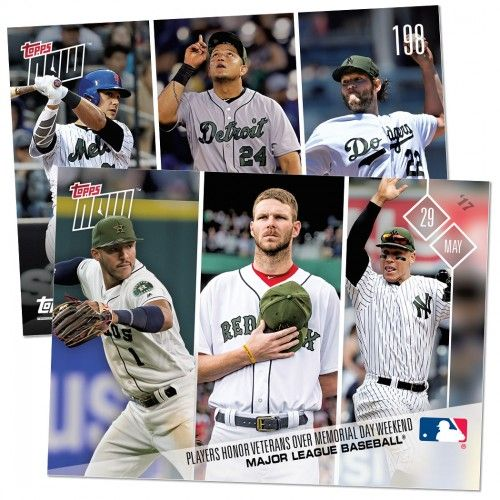 MEMORIAL DAY - 05/30/2017 TOPPS NOW CARD 198 - PRINT RUN QTY: 539 CARDS