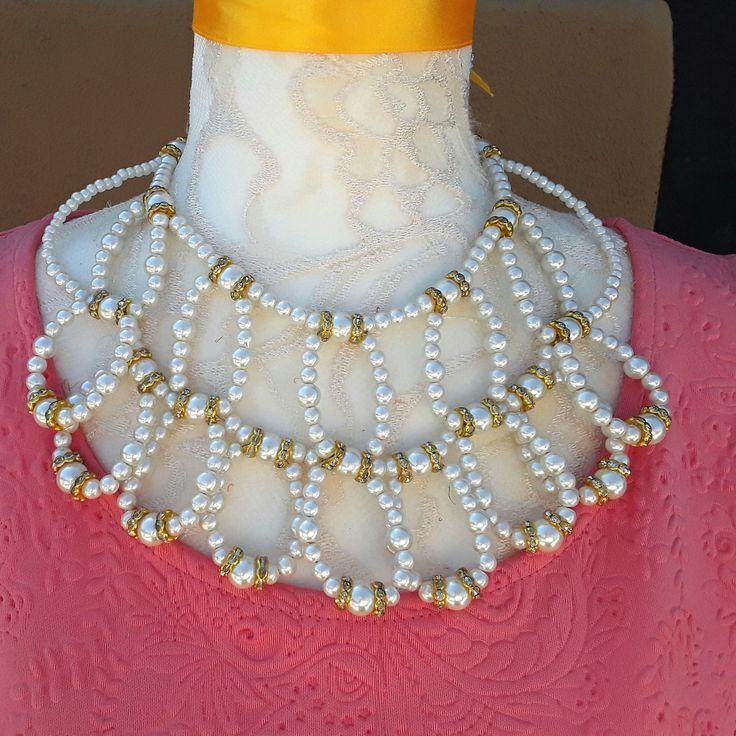 Collier de déclaration de mariage de perle  Unique en son genre d39un collier cadeau spé Collier de déclaration de mariage de perle  Unique en son ge...