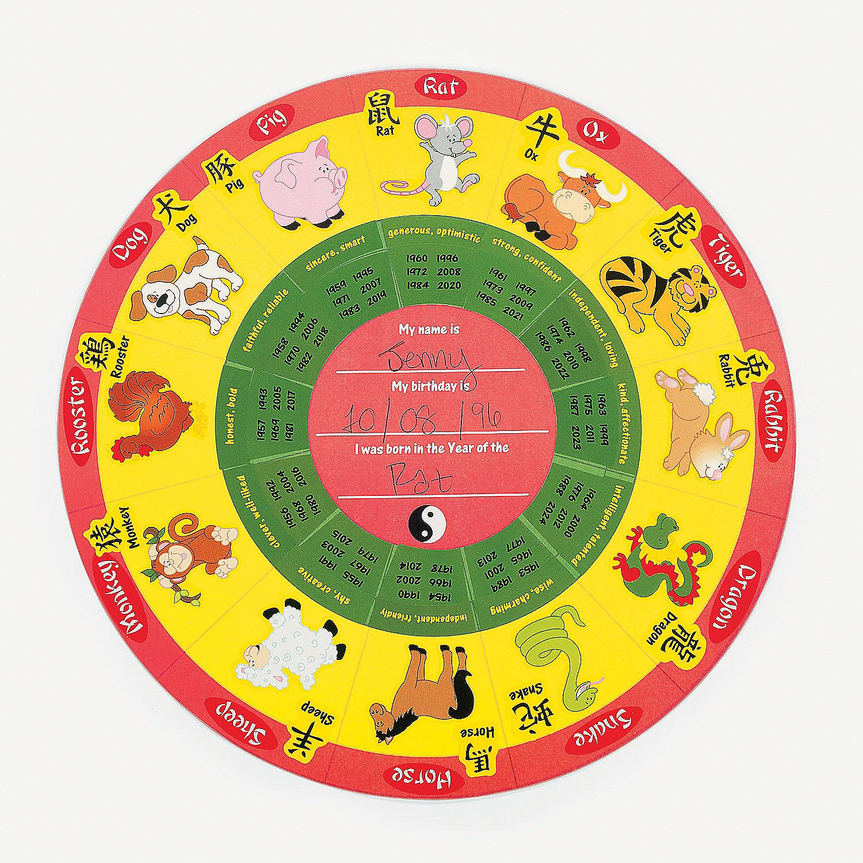 Round Chinese New Year Stickers Calendar Calendar Stickers Chinese New Year Party Chinese New Year