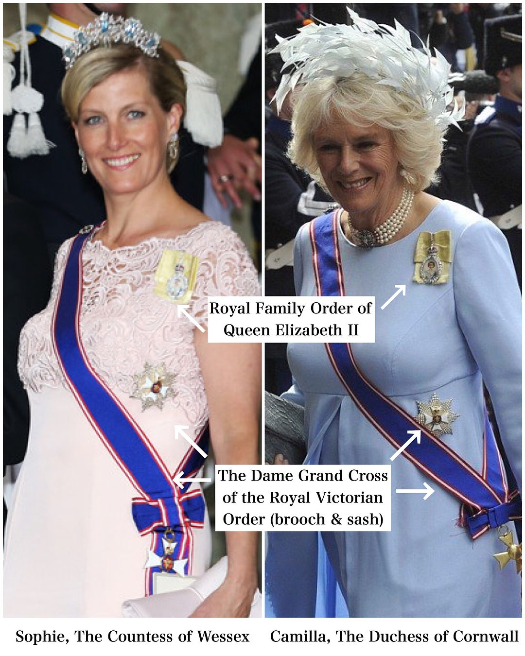 The Royal Family Order is an honour granted personally by