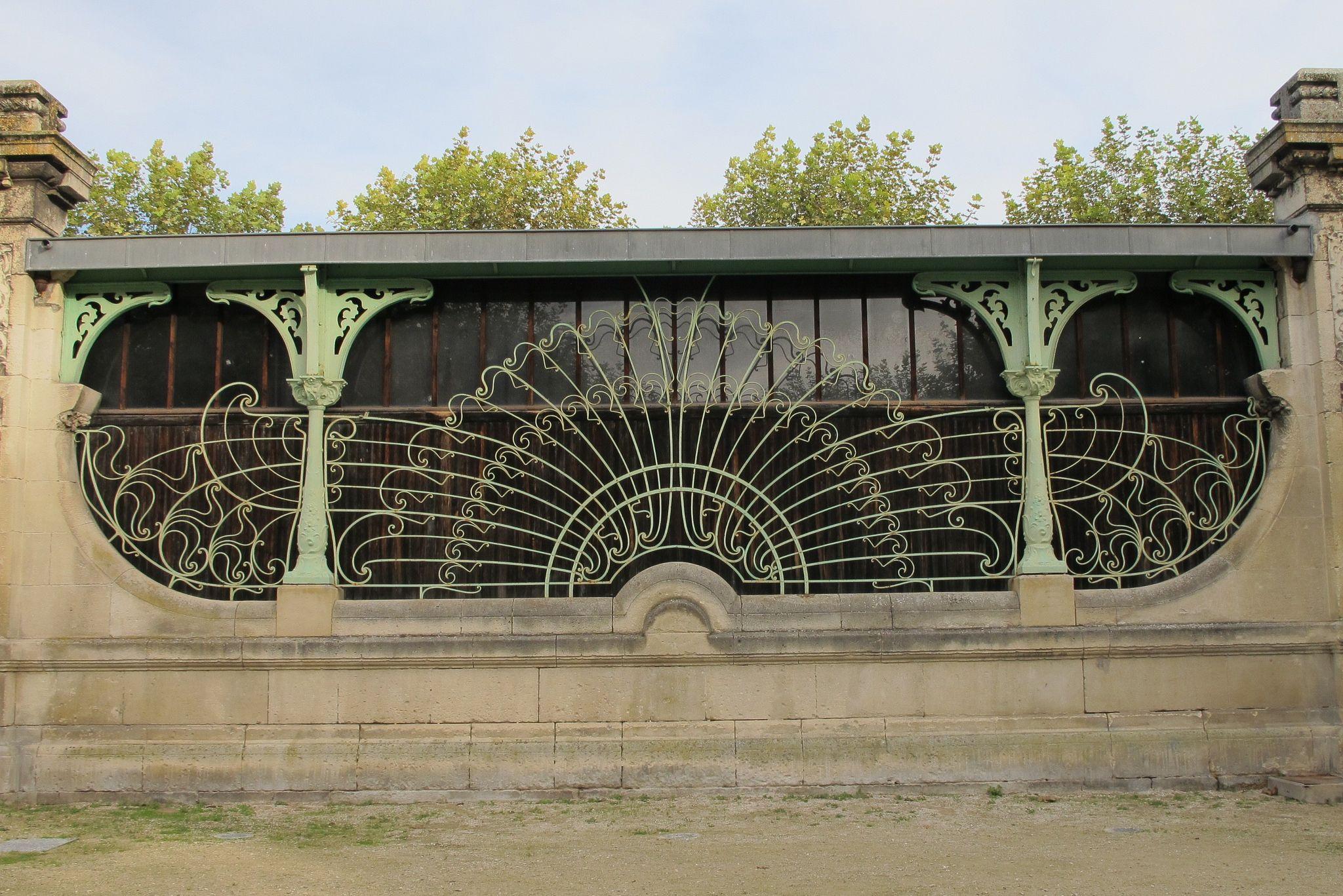 ferronnerie art nouveau 1901 fontaine place am d e larrieu bordeaux 33 bordeaux. Black Bedroom Furniture Sets. Home Design Ideas