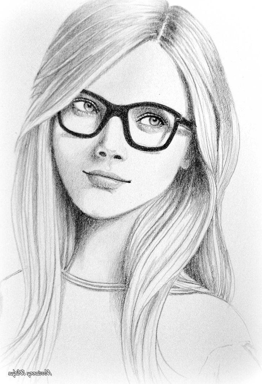 easy portrait drawing - Google zoeken | Pencil sketches of ...