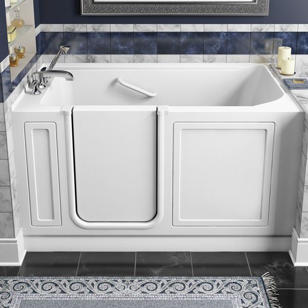 #safety #elderly #disabled #bathtub By American Standard #walkin #tubs  #bathrooms