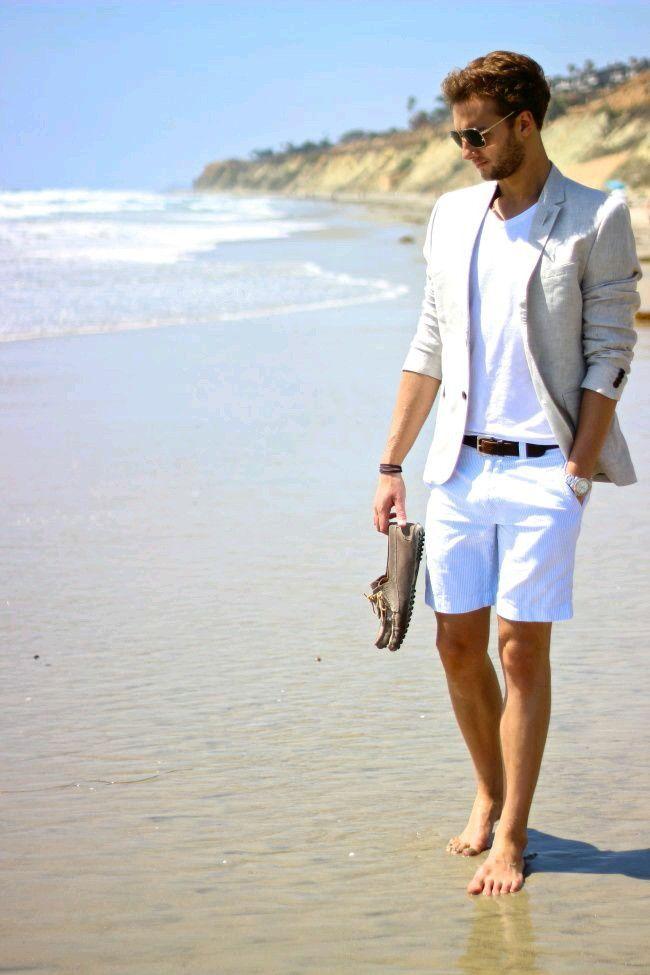 7e646224915b27 Men's summer fashion, beach | Men's fashion | Mens clothing styles ...