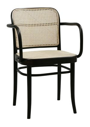 Incredible Prague Cane Bentwood Arm Chair Design In Out Machost Co Dining Chair Design Ideas Machostcouk