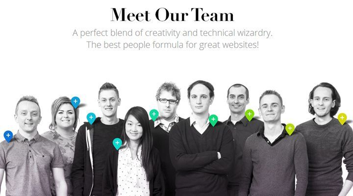 50 Web Layouts For Showcasing Company Teams Employees Webpage Layout Web Design Agency Team Photography