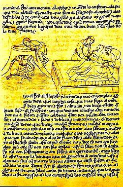 Es un Manuscrito de la traducción al castellano, en la Biblioteca de El Escorial, Madrid. Se tradujo de una versión árabe que a la vez se basó en el Panchatantra hindú.