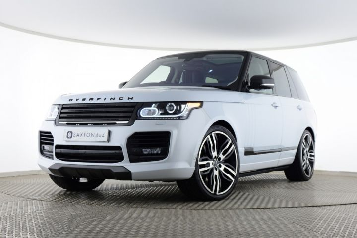 Used Land Rover Range Rover Sdv8 Autobiography Overfinch White For Sale Essex Yp16ngf Saxton 4x4 Range Rover Range Rover For Sale Used Range Rover