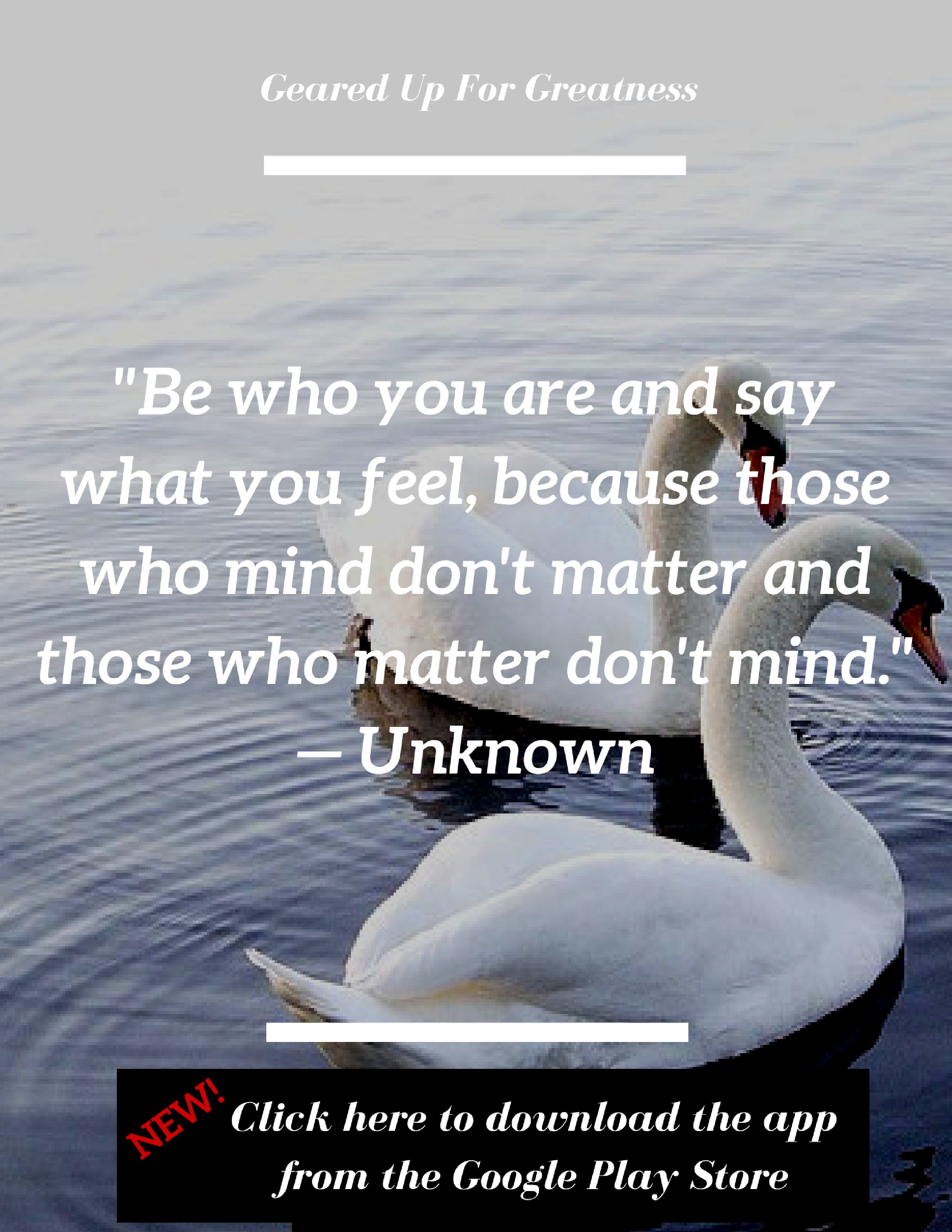 Love This Quote Be Who You Are And Say What You Feel Because