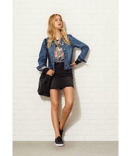 db8b4155c5 Sportsgirl – Precious Bohemian   Style   Denim mini skirt, Boho ...