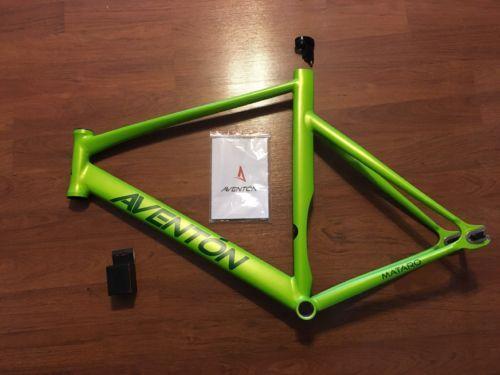 ON SALE: Aventon Mataro Frame 58 Cm Green track bike fixie fixed ...