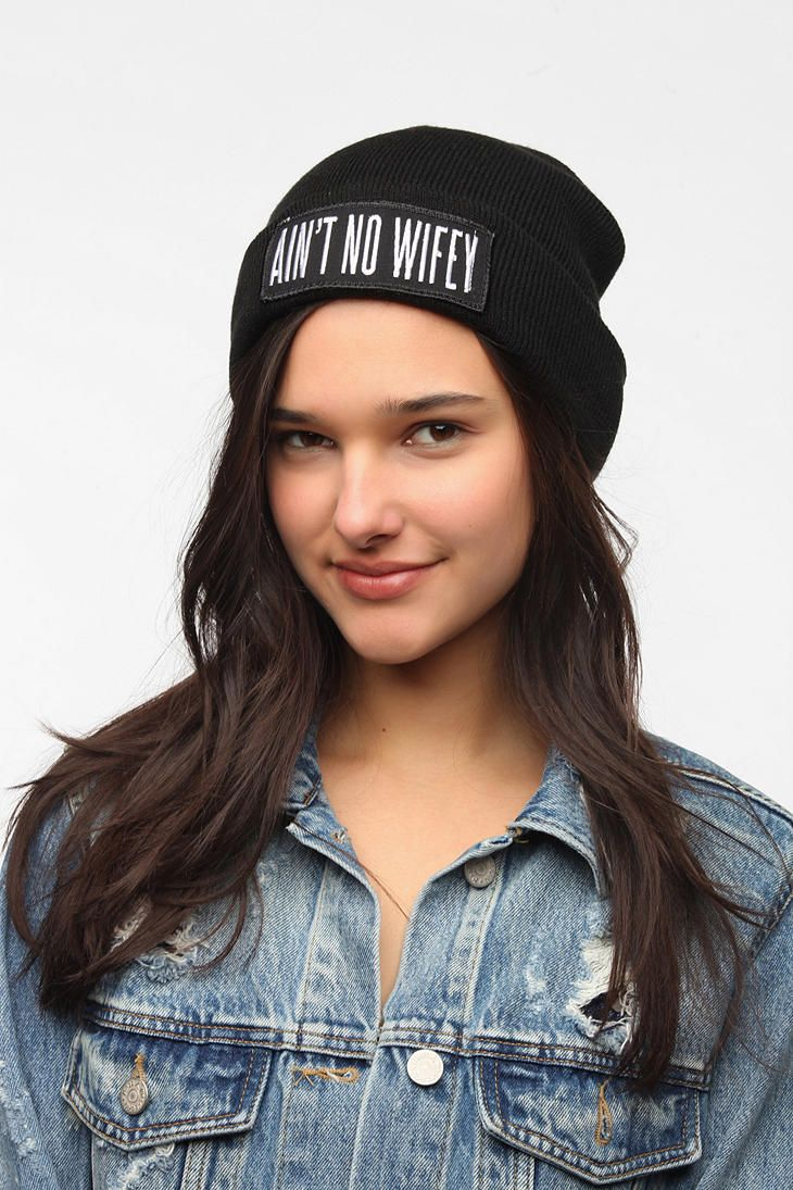 4aa2ee7210f DimePiece Ain t No Wifey Beanie I told Mike I want this for our anniversary   )