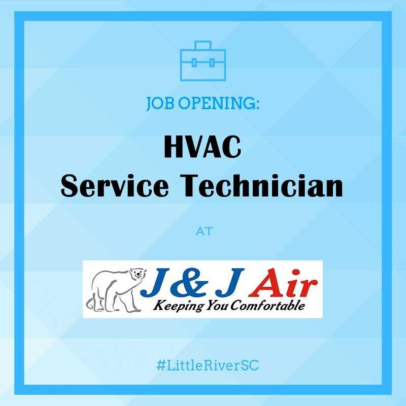 Job Opening: Experienced HVAC Service Technician - J & J ...