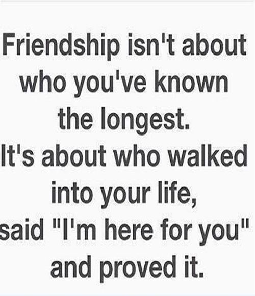 I'm Here For You   Friendship Quote | teen life! | Friendship