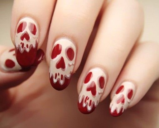 Were Counting Down The Days To Halloween These Fun Nail Art Ideas