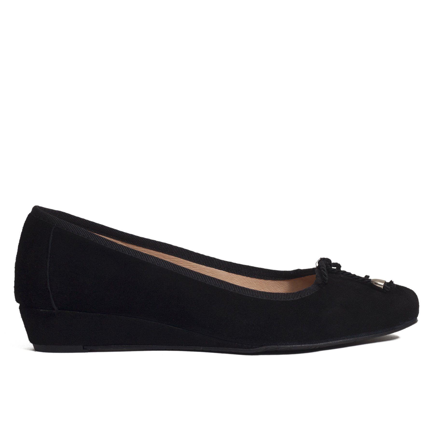 d1f14a6da6640 Zapato de cuña Negro Piel-Ante - miMaO Zapatos Online – miMaO ShopOnline