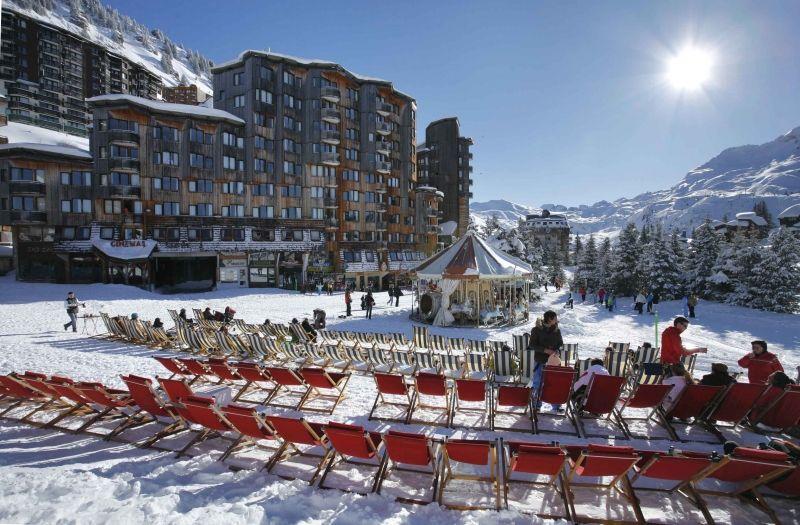 Car free ski resort - Avoriaz - Ski in ski out