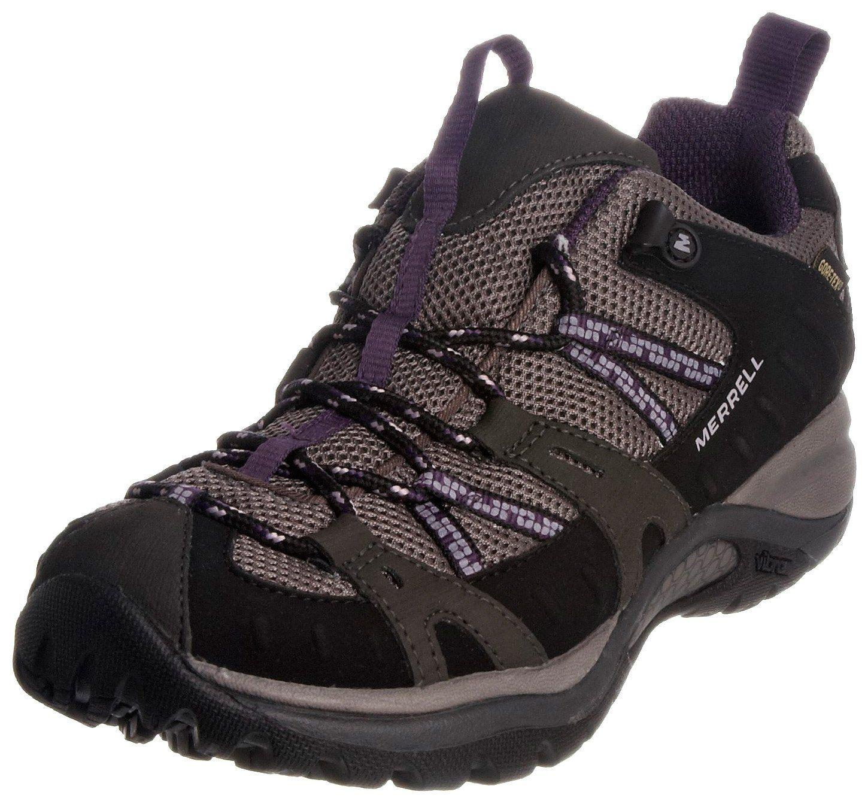 Zapatos negros Merrell para mujer 02KCqw5Se