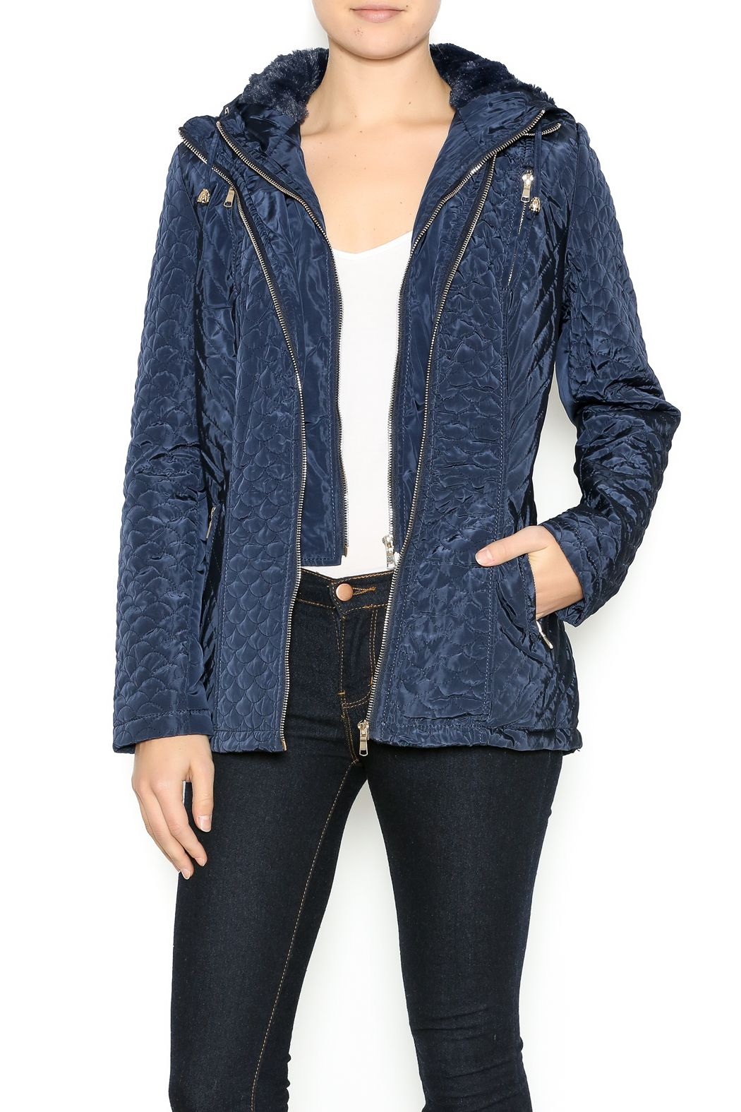Coalition la quilted all weather jacket all weather