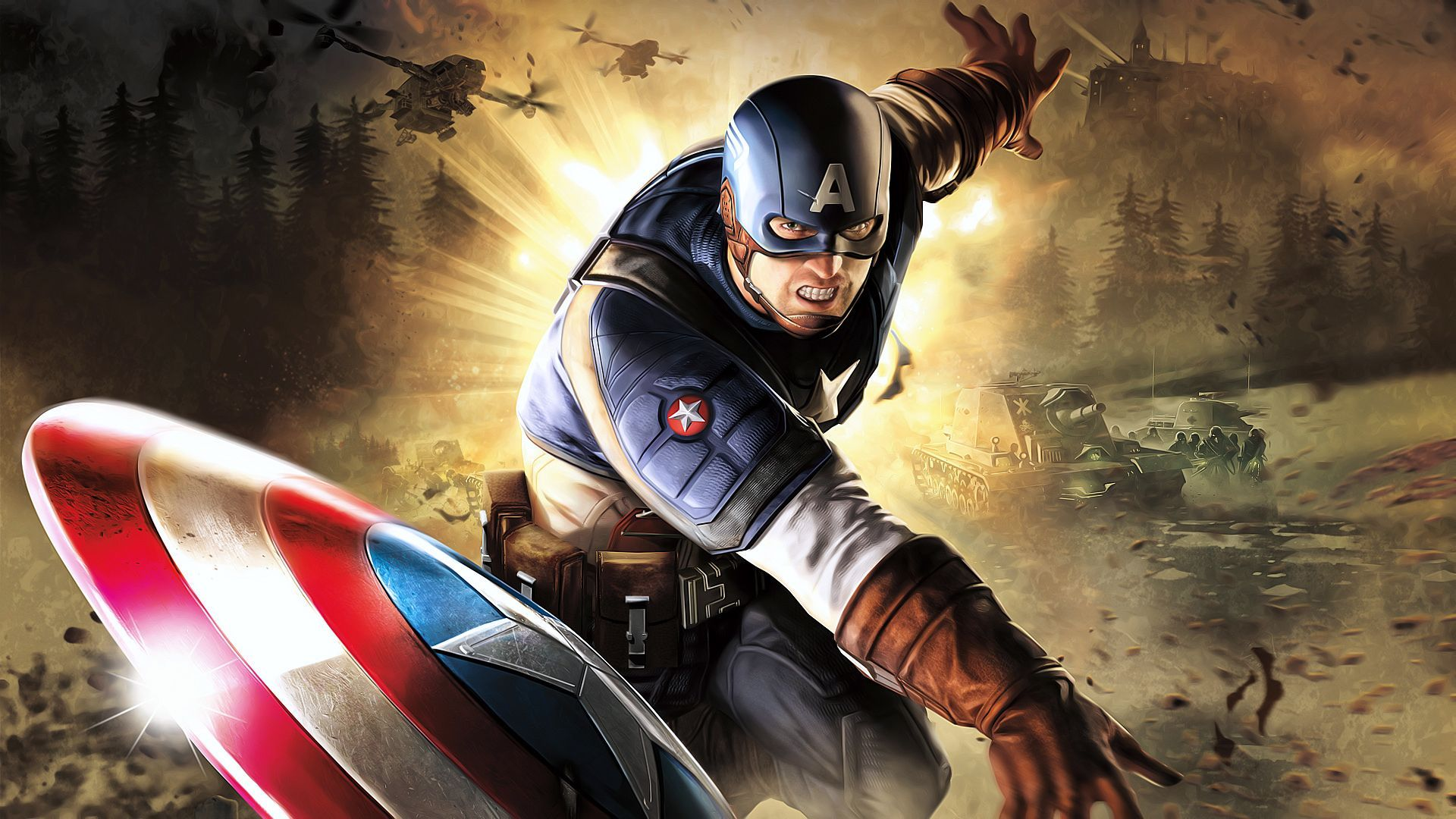 Captain America The First Avenger Wallpaper Beautiful Wallpapers