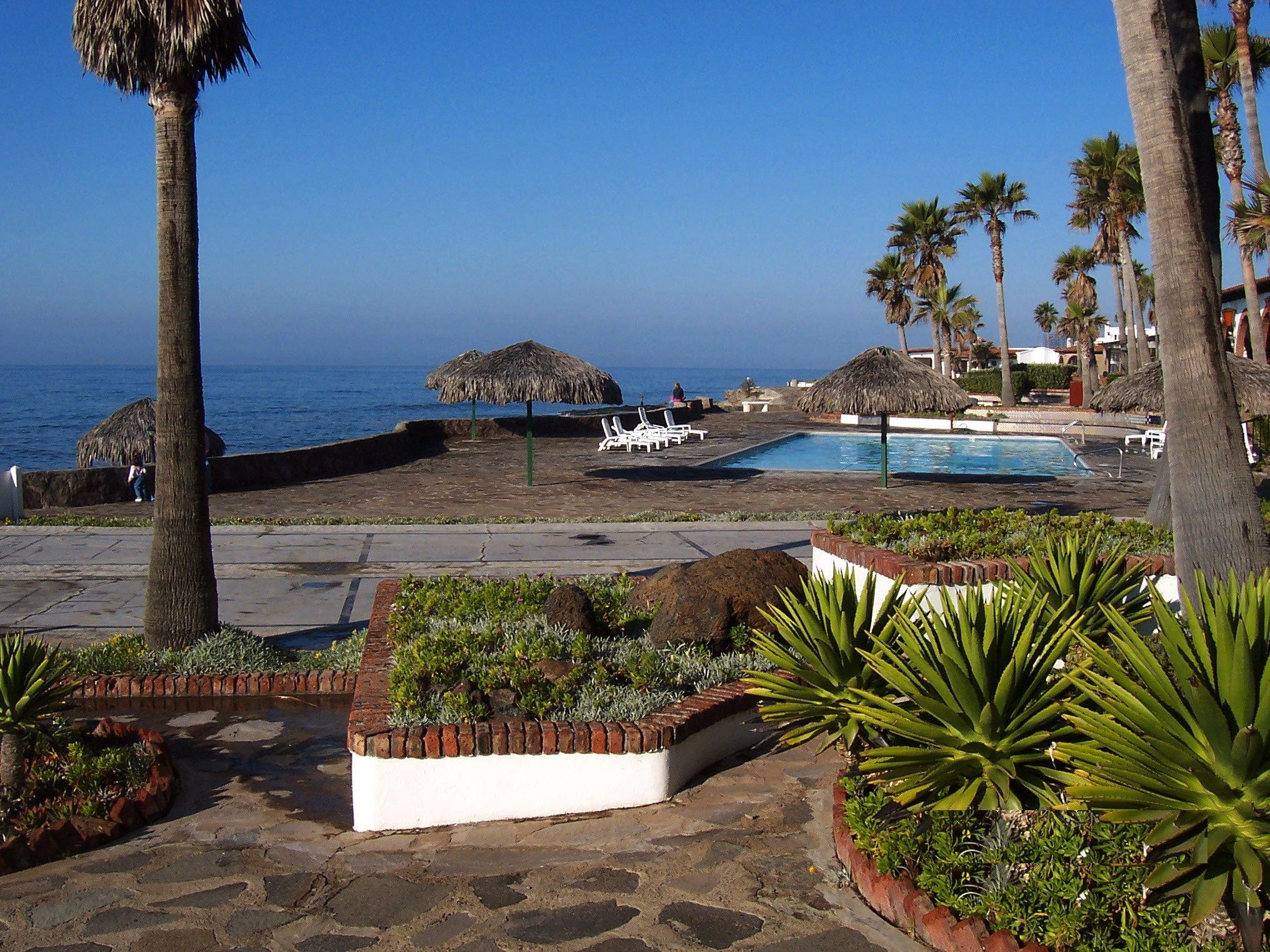 Beach Walkway, Shuffle Board Court, Pool