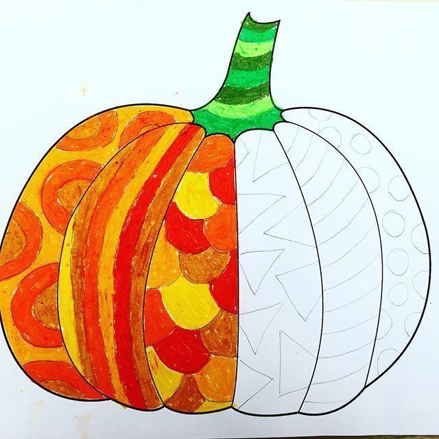 Pumpkin in progress :-) - #automne #progress #Pumpkin #onlineclasses