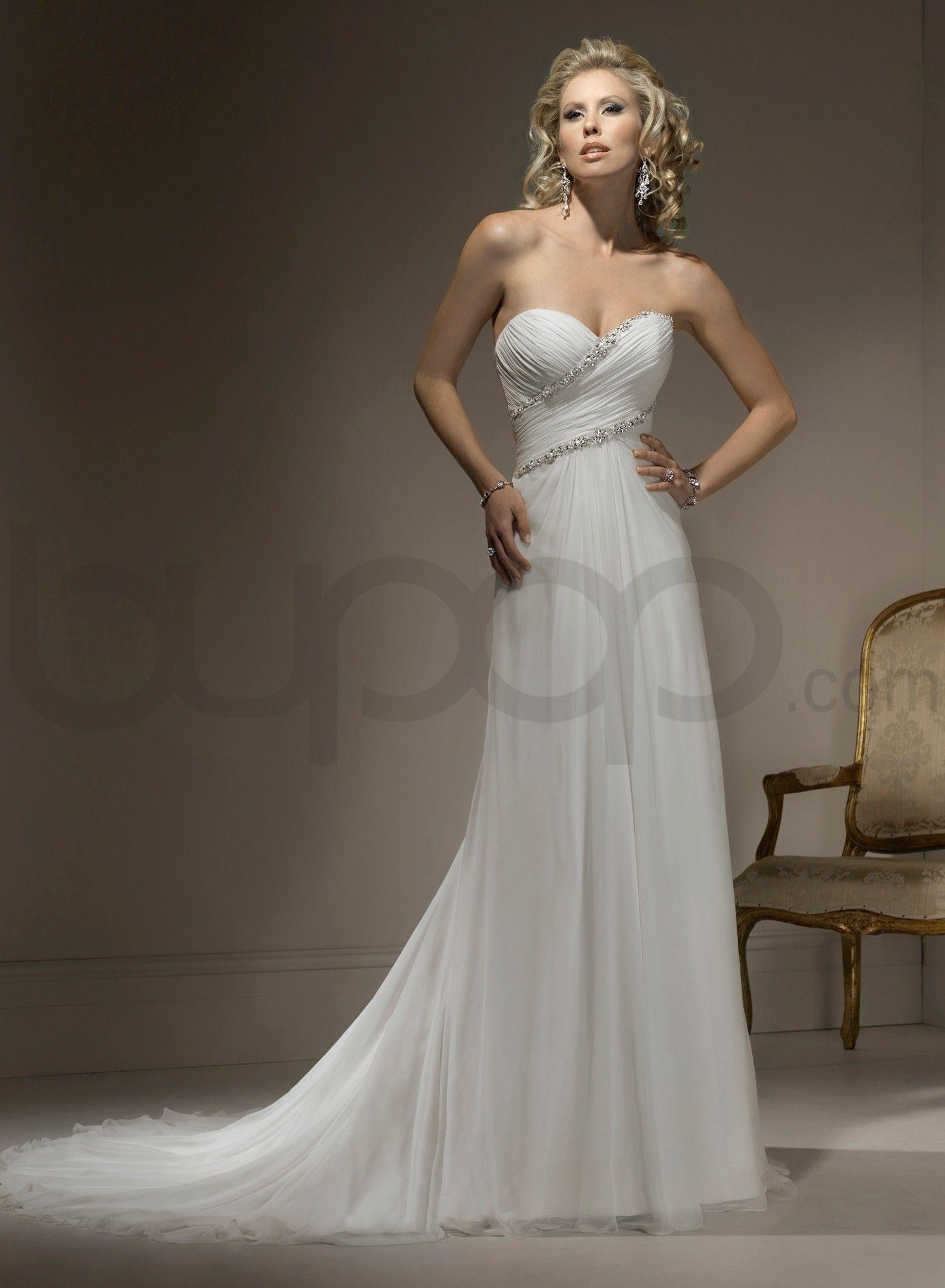 Strapless Sweetheart Wedding Dresses - Ocodea.com