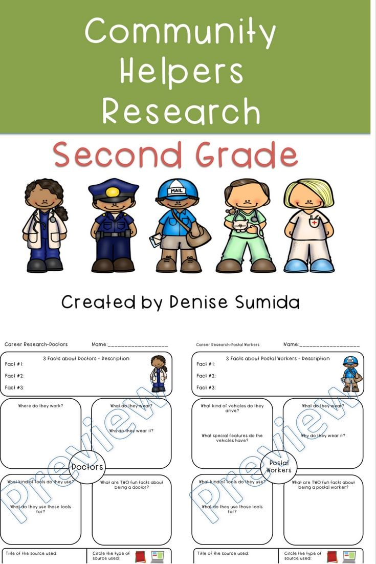 Second Grade Community Helpers Research Project Print Version Community Helpers Worksheets Community Helpers Second Grade [ 1102 x 735 Pixel ]