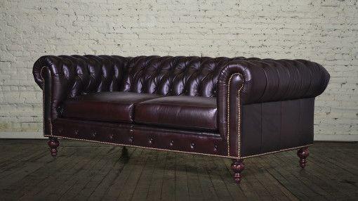 d5051 81 inch chesterfield Renasaince vandalaye brown