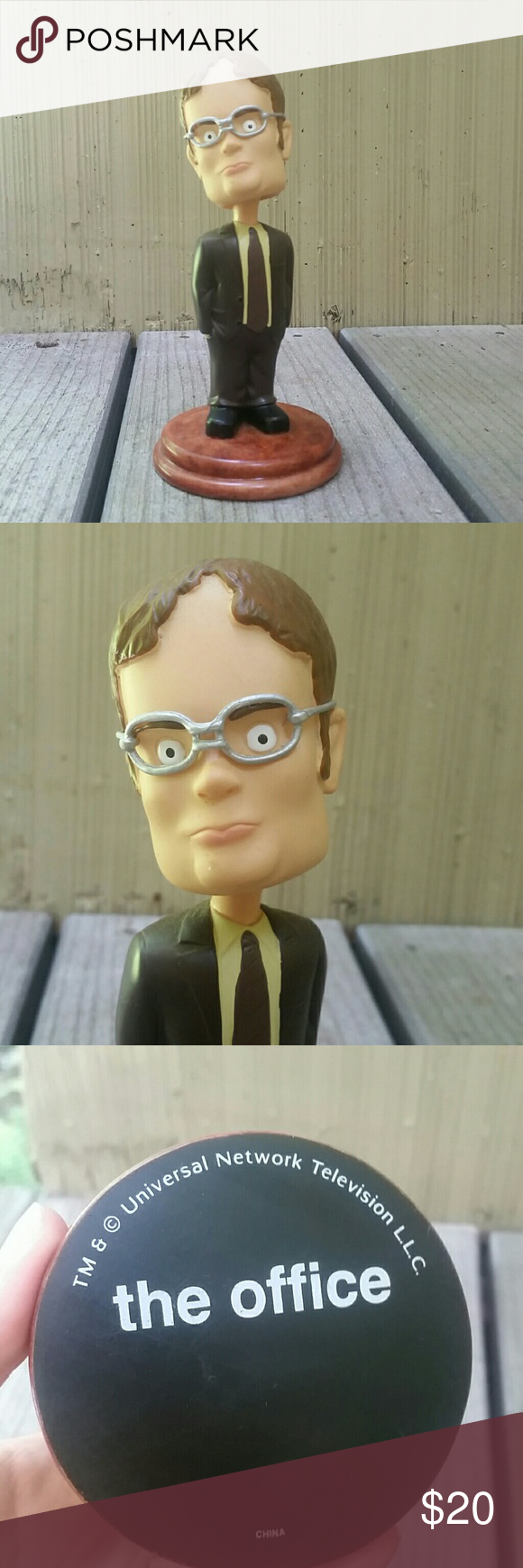 Dwight Schrute Bobblehead The Office Dwight Schrute Bobblehead Dwight Schrute Bobble Head